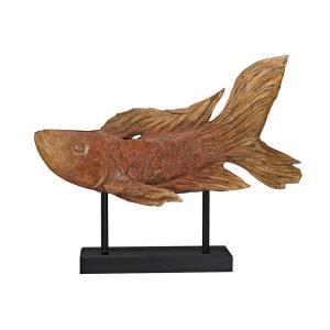 Ryukyu - 21 Inch Fish Sculpture