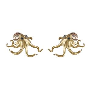 Open Arms - 7 Inch Decorative Octopus (Set of 2)