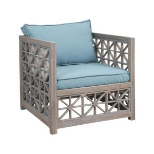 Vincent Lattice - 32 Inch Outdoor Chair Cushion
