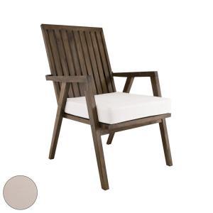 Teak Garden - 22 Inch Outdoor Garden Patio Chair Cushion