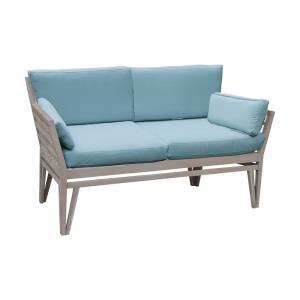 Newport - 26 Inch Outdoor Love Seat Cushion
