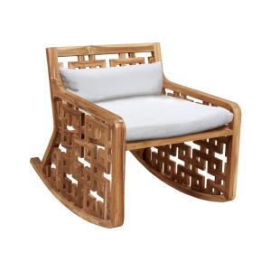 Matt's - 23 Inch Outdoor Rocking Chair Cushion