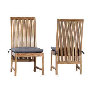 "Teak - 22"" Outdoor Cushion (Set of 2)"