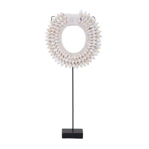 Shell On Stand - 36 Inch Sculpture