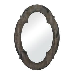 Berkely Hill - Traditional Style w/ ModernFarmhouse inspirations - Mirror and Wood Mirror - 28 Inches tall 19 Inches wide