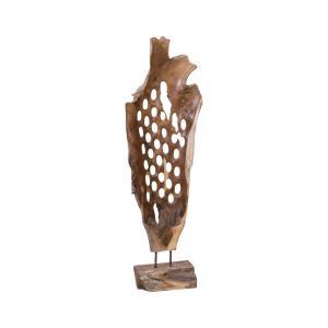 42 Inch Teak Sculpture