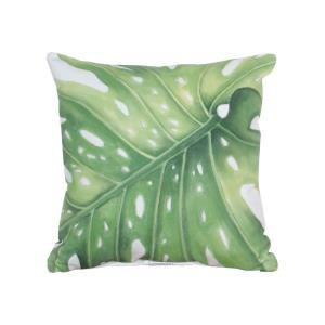 Transitional Style w/ Coastal/Beach inspirations - Polyester Fabric and Polyfil Pillow - 9 Inches tall 20 Inches wide