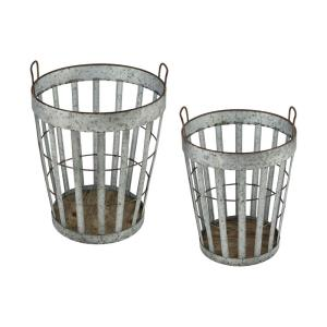 "Applejack - 18"" Basket (Set of 2)"