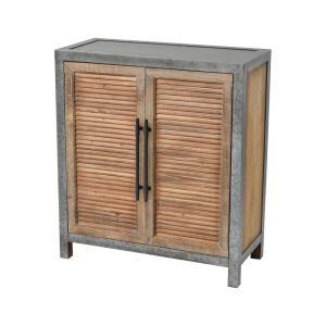 Badlands - 31.5 Inch 2-Door Wood and Metal Chest
