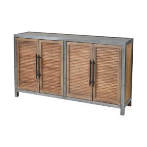 Badlands - 61.41 Inch 2-Door Wood and Metal Cabinet