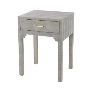 """Sands Point - 22"""" Accent Side Table with Drawer"""