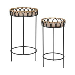 Fisher Island - 26 Inch Accent Table (Set of 2)