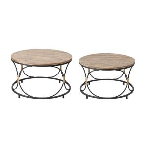 Fisher Island - 30 Inch Coffee Table (Set of 2)