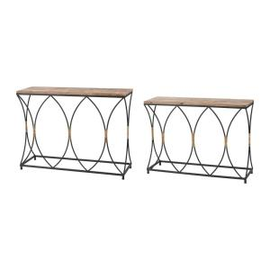 Fisher Island - 42 Inch Console Table (Set of 2)