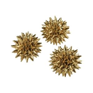 Spangle - 5 Inch Ornamental Sculpture (Set of 2)