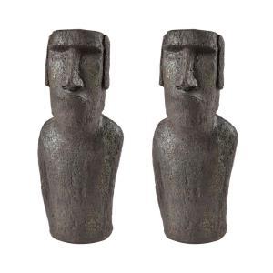 Moai Quarry - 16 Inch Decorative Sculpture I (Set of 2)