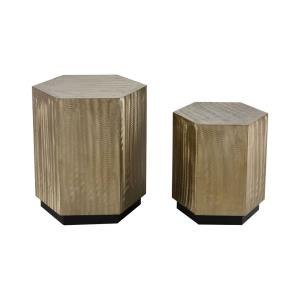 Broodcomb - 22- Inch Accent Table (Set of 2)