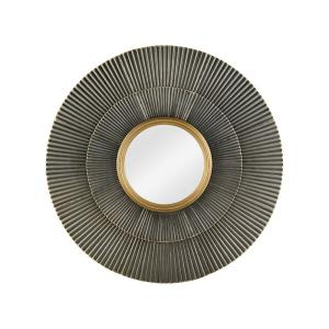 Vesuvius - Transitional Style w/ Luxe/Glam inspirations - Metal Wall Mirror - 41 Inches tall 41 Inches wide