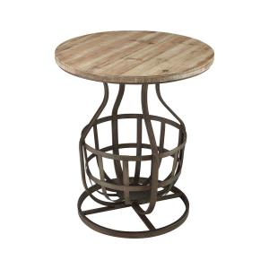 """Modern Foundry - 25"""" Side Table"""