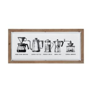 Coffee I - 26 Inch Wall Decor