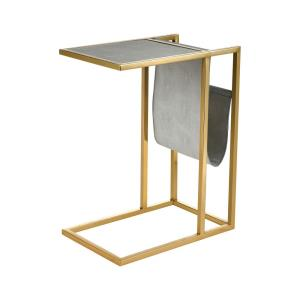 Kingsroad - 24 Inch Accent Table with Magazine Holder