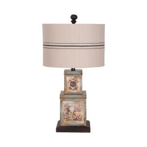 Vagabon Tin - 1 Light Table Lamp