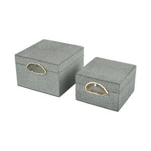Saint-Tropez - 8 Inch Decorative Box (Set of 2)