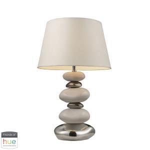 "Elemis - 23"" 60W 1 LED Table Lamp with Philips Hue LED Bulb/Bridge"