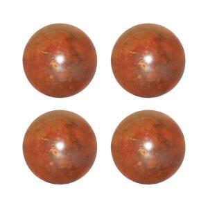 """Bali - 4"""" Sphere (Set of 4)"""