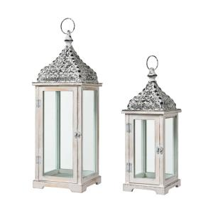 "Chelsea - 27"" Candle Lanterns (Set of 2)"