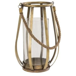 """Lenwell - 12.5"""" Large Candle Lantern"""
