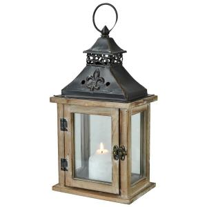 Gillian - 12.5 Inch Large Candle Lantern