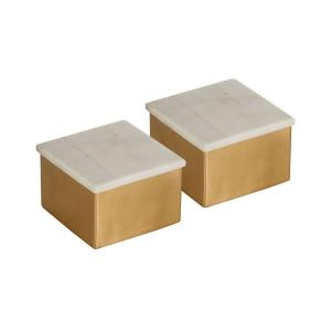"Castelby - 4"" Box (Set of 2)"