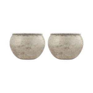 Forever - 7 Inch Ball Vase (Set of 2)