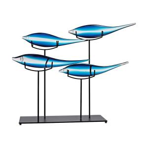 Tultui - Transitional Style w/ Luxe/Glam inspirations -  Decorative Tabletop Sculpture - 22 Inches tall 16 Inches wide