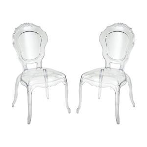Vie En Rose - 20.47 Inch Chair (Set of 2)