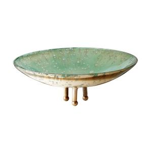 Gilded Sea - 10 Inch Small Bowl