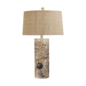 Aspen Bark - One Light Table Lamp