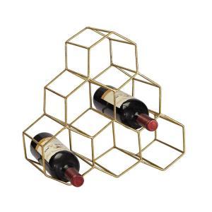 """14"""" Angular Study Hexagonal Wine Rack"""