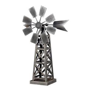 Industrial Wind Mill - 20 Inch Ornamental Accessory