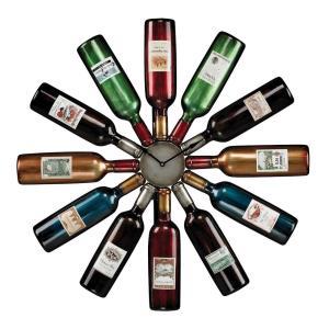 Wine Bottle - 30 Inch Clock