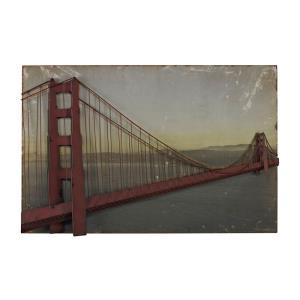 Golden Gate Bridge - 43 Inch Wall Art