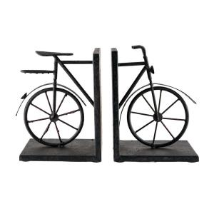 Bicycles - 13 Inch Bookend (Set of 2)