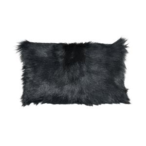 Apres-ski - Transitional Style w/ Luxe/Glam inspirations - 100% Lamb Fur and Polyester Pillow - 1 Inches tall 20 Inches wide
