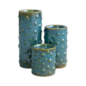 Tortuga - 11.75 Inch Pillar Holders (Set of 3)