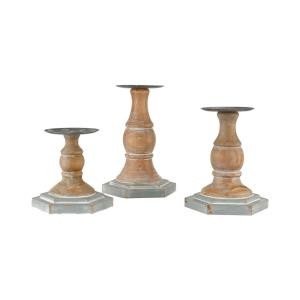 Coventry - 12.75 Inch Pillar Holders (Set of 3)