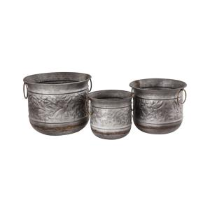 Feldman - 12 Inch Planters (Set of 3)