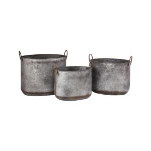 Lancaster - 20 Inch Planters (Set of 3)