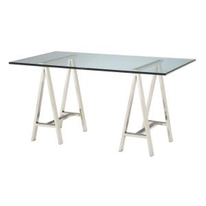 Table Tops - Modern/Contemporary Style w/ Luxe/Glam inspirations - Glass Rectangle Glass Table - 0 Inches tall 36 Inches wide
