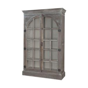 Manor - 80 Inch Arched Door Display Cabinet